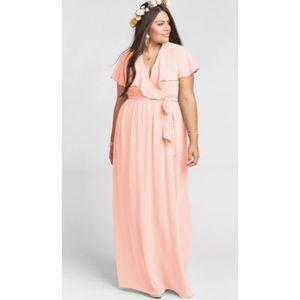 Show me your Mumu Audrey Maxi Dress Coral XL